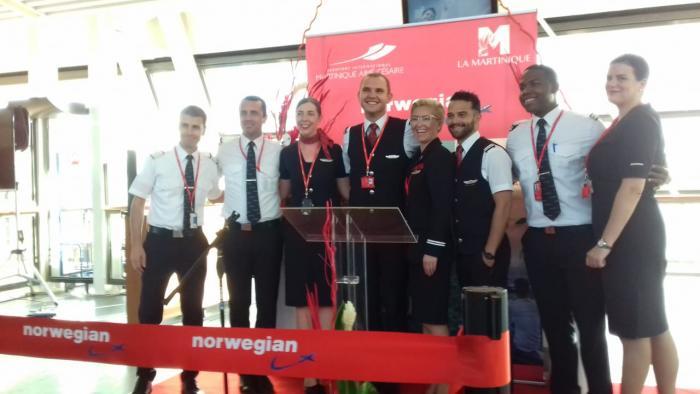 Norwegian : le premier vol Cayenne Fort-de-France s'est posé, ce mercredi