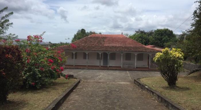 Où en est la rénovation de la maison d'Aimé Césaire