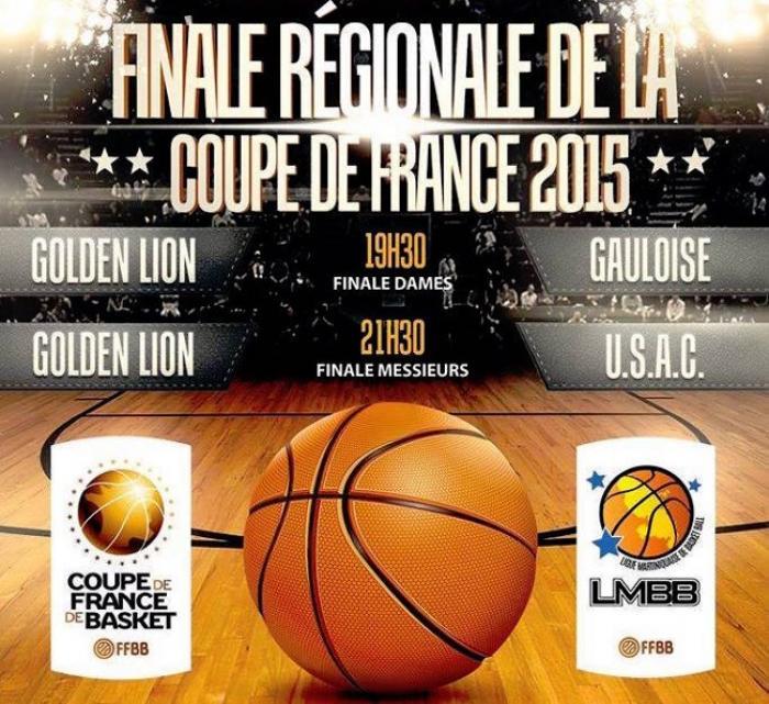 Place aux finales régionales de basket en Coupe de France