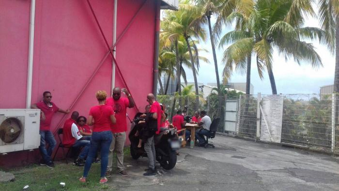 Plusieurs salariés de Pompière mobilisés