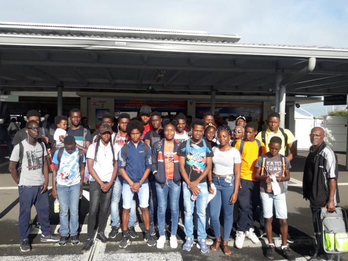 Préparation sportive pour les jeunes du collège Albert Baclet de Saint-Louis