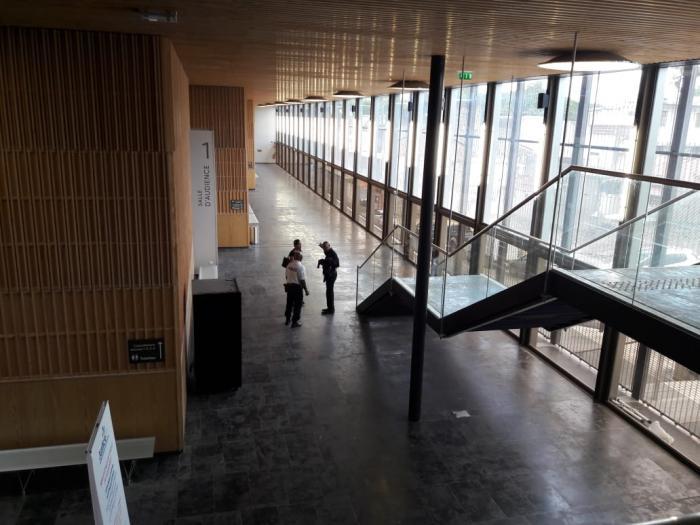 Présentation du nouveau Palais de Justice de Pointe-à-Pitre