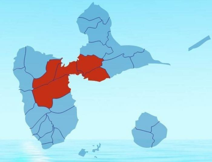 Qualité de l'air :  la Guadeloupe toujours en rouge