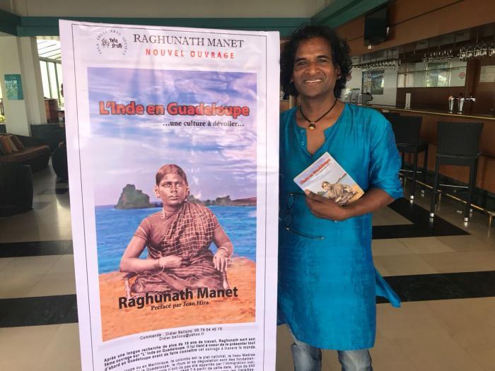 Raghunath Manet un célèbre artiste indien est en Martinique