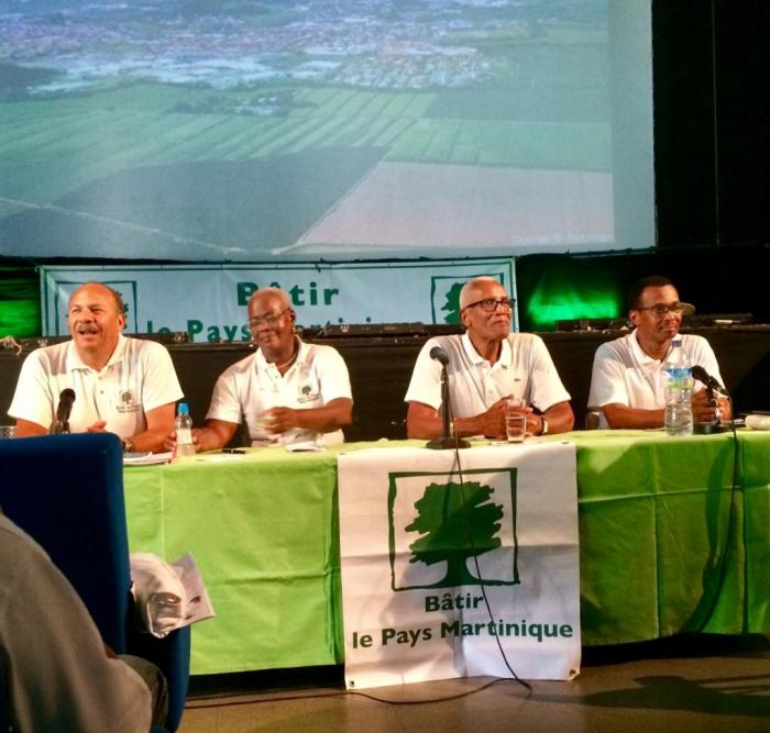Rentrée politique pour Bâtir le pays Martinique