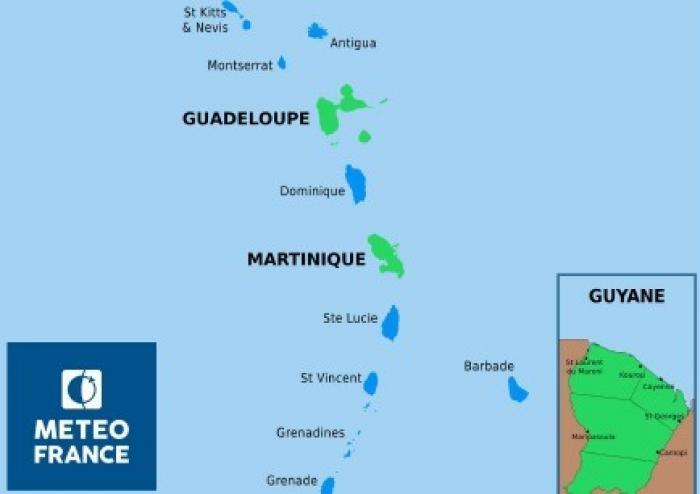Retour au vert pour la Martinique