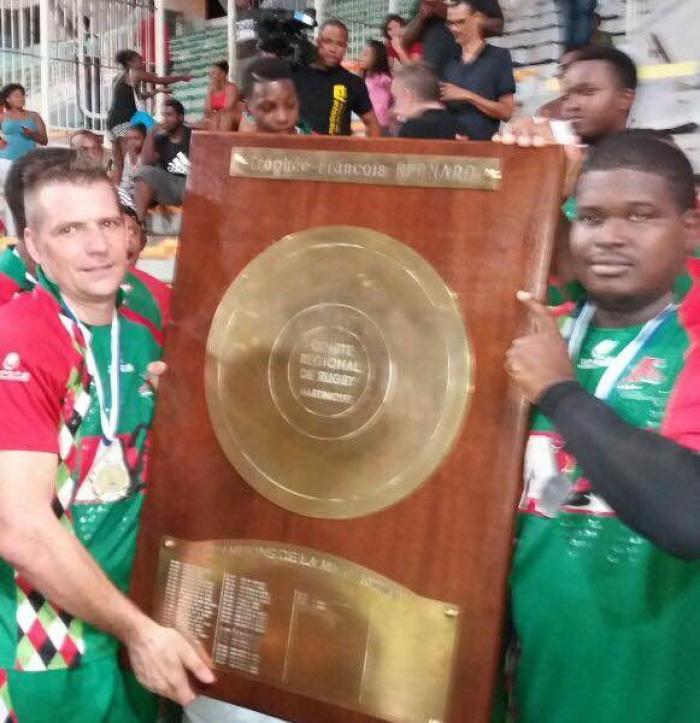 Rugby : L'US Robert remporte le titre de champion de Martinique