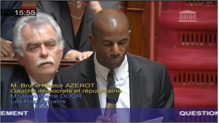 """""""Sé an lanmen ka lavé lot"""" ou l'hommage de Bruno Nestor Azérot à la Nation française"""