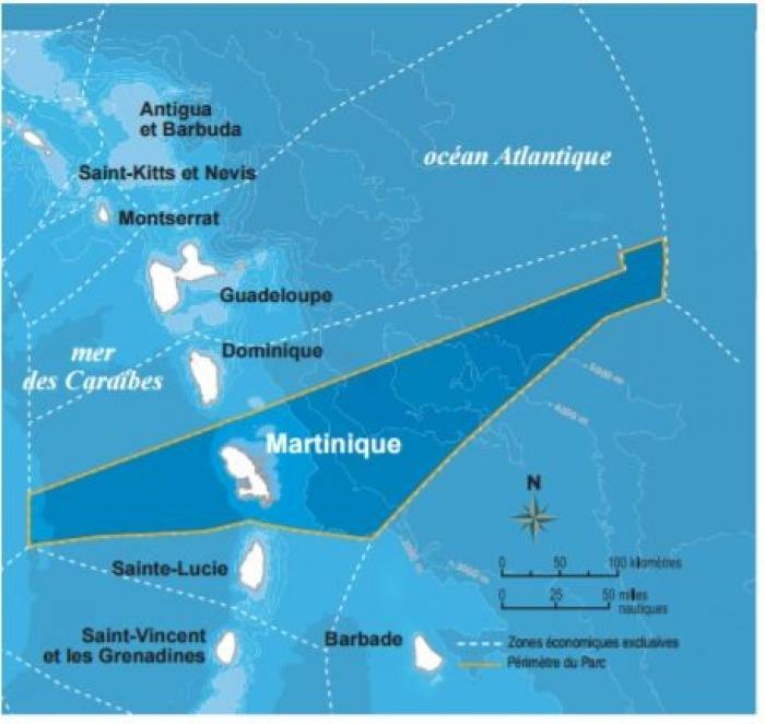 Ségolène Royal a signé ce vendredi 24 mars 2017 le décret de création du parc naturel marin de Martinique