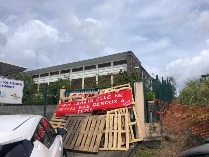 Soutien à la policière de Bellefontaine : opération molokoy ce matin