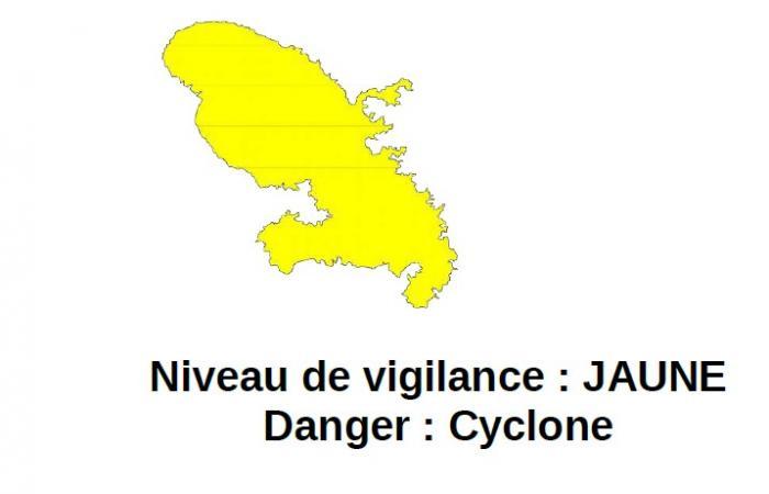 Tempête tropicale Beryl : la vigilance jaune cyclone maintenue