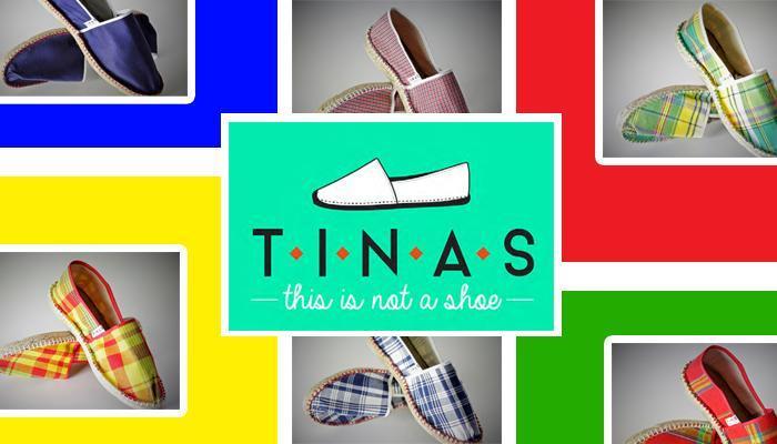 Tinas : les espadrilles aux couleurs locales