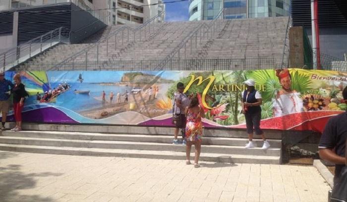 """Tourisme : le """"Carnival Splendor"""" est en Martinique !"""
