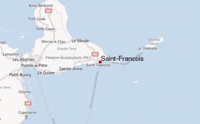 Un accident à Saint-François