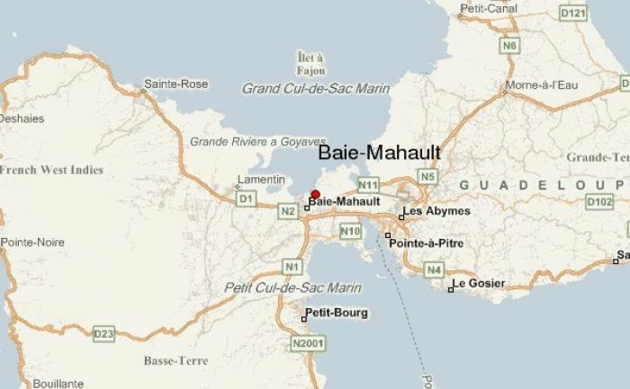 Un blessé à l'arme blanche à Baie-Mahault