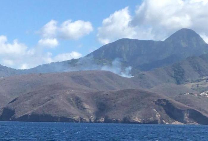 Un feu de broussailles s'est déclenché sur les hauteurs de Bellefontaine
