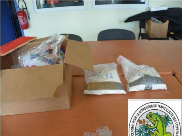 Un jeune d'Ajoupa-Bouillon envoyait des colis de cocaïne