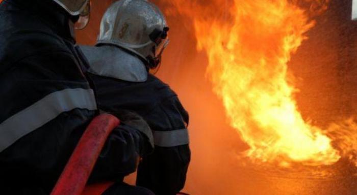 Un véhicule en feu sur la nationale à Jabrun