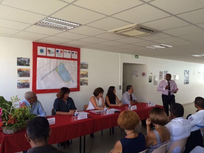 Une convention signée pour améliorer la sécurité de la cité scolaire La Jetée au François