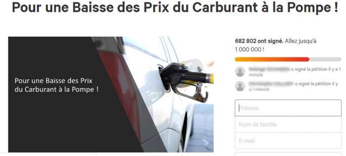 Une martiniquaise à l'origine de la pétition en ligne pour la baisse des prix à la pompe