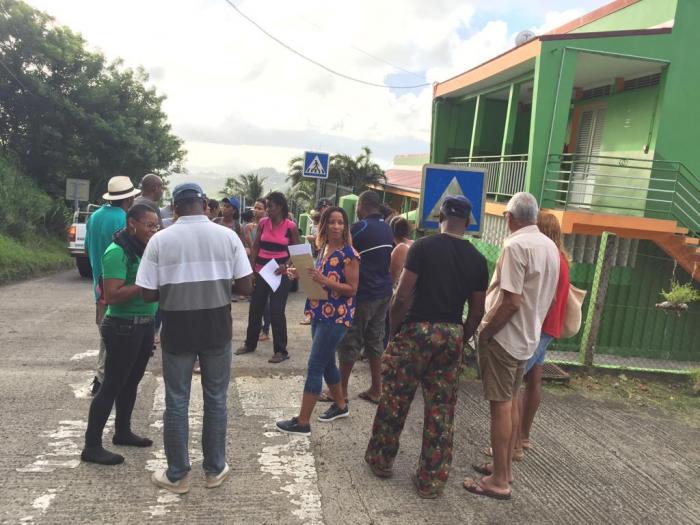 Vauclin : les parents mobilisés ont empêché le déménagement du mobilier de l'école
