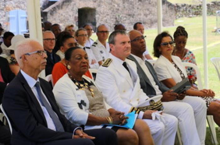 Vibrante et émouvante commémoration de l'abolition de l'esclavage au Fort Delgrès