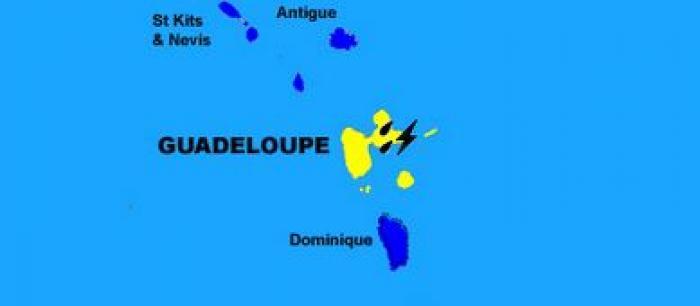 Vigilance jaune pour fortes pluies et orages en Guadeloupe
