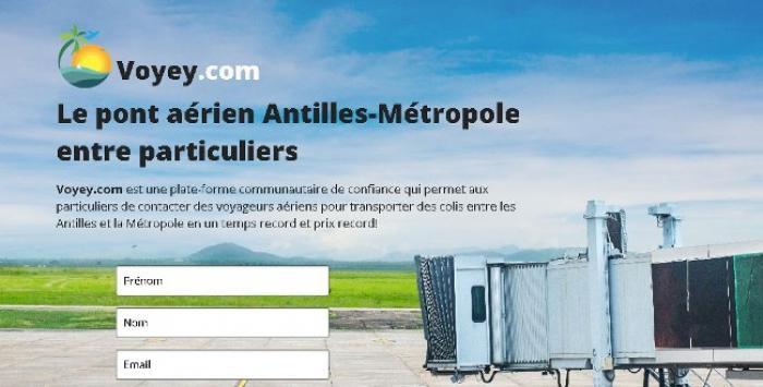 Voyey.com, le nouveau pont aérien entre les Antilles et l'Hexagone