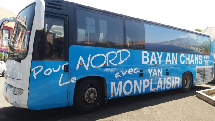 Yan Monplaisir présente sa permanence mobile